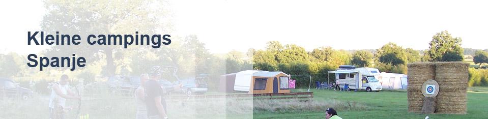 Kleine campings Spanje