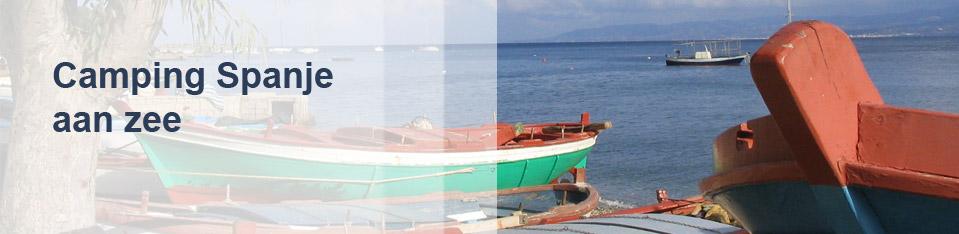 Camping Spanje aan zee